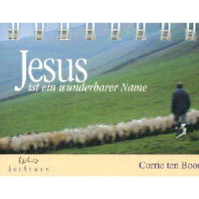 Jesus ist ein wunderbarer Name - Aufstellbuch