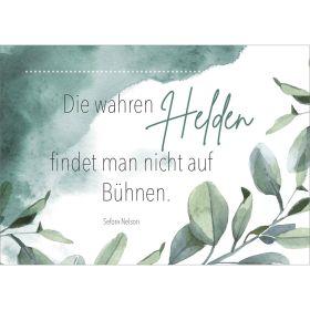 """Postkarten """"Helden"""" 4er-Serie"""