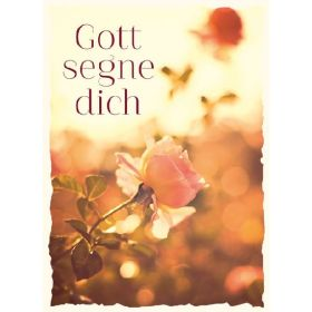 CD-Card: Gott segne dich
