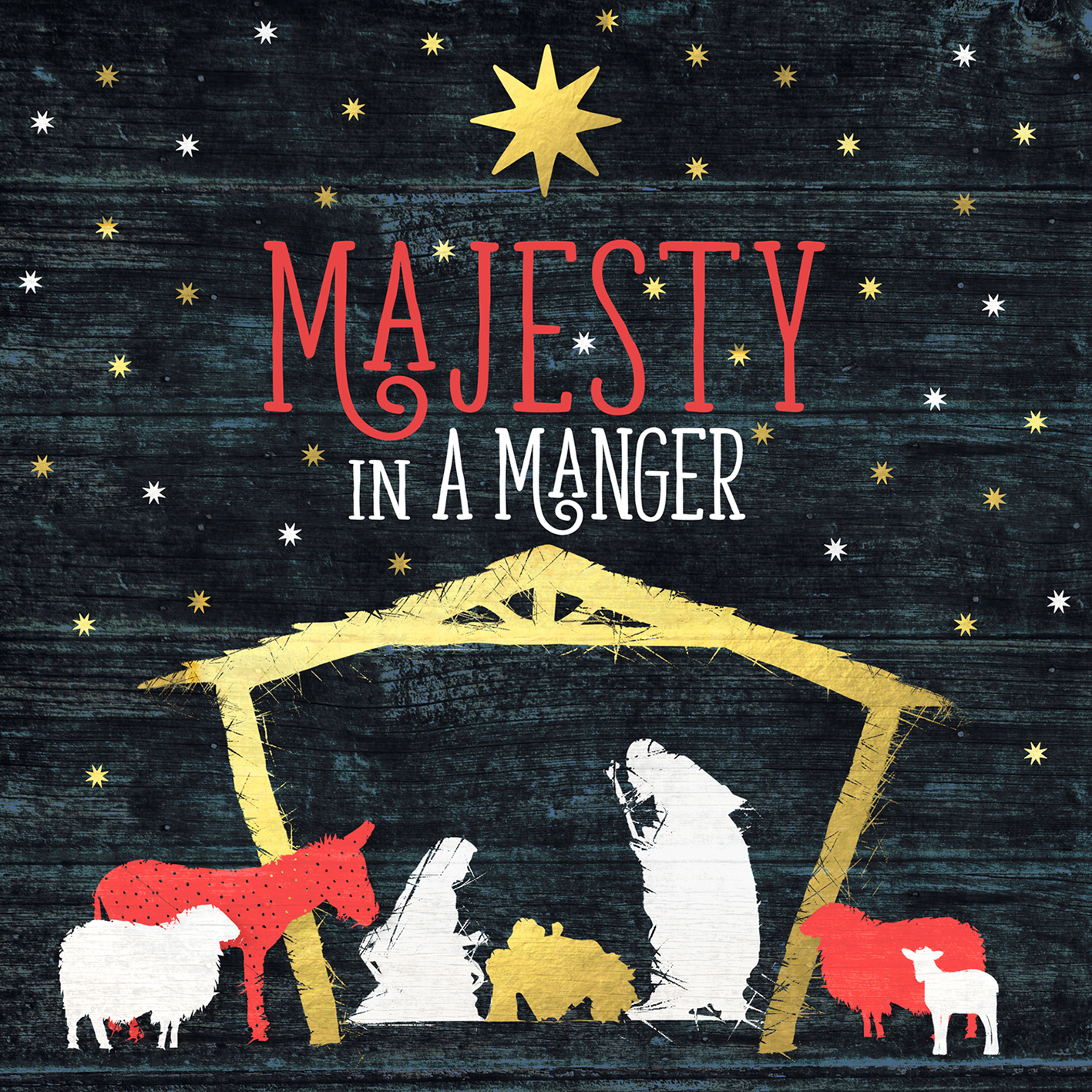 Various Majesty In A Manger Scm Shop Christmas