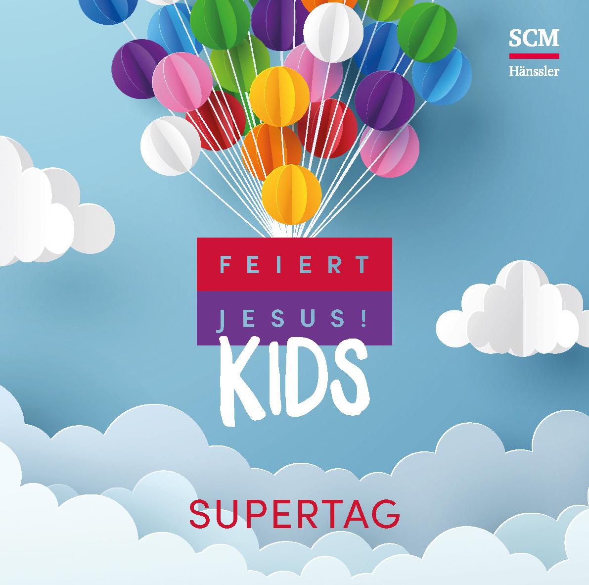 feiert jesus kids supertag mp3 album download scm h nssler. Black Bedroom Furniture Sets. Home Design Ideas