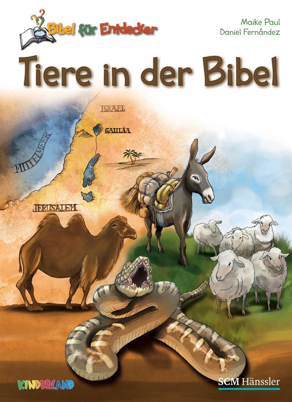 tiere in der bibel buch gebunden scm h228nssler